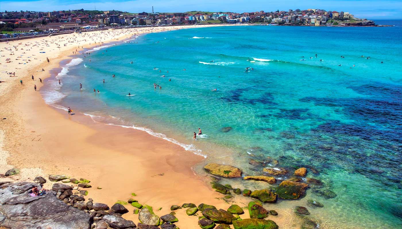 plage de sable sydney
