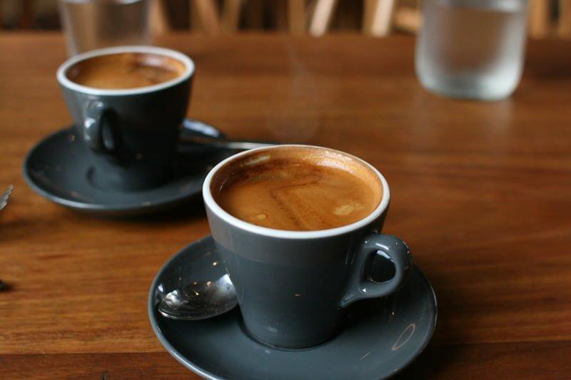 long black café