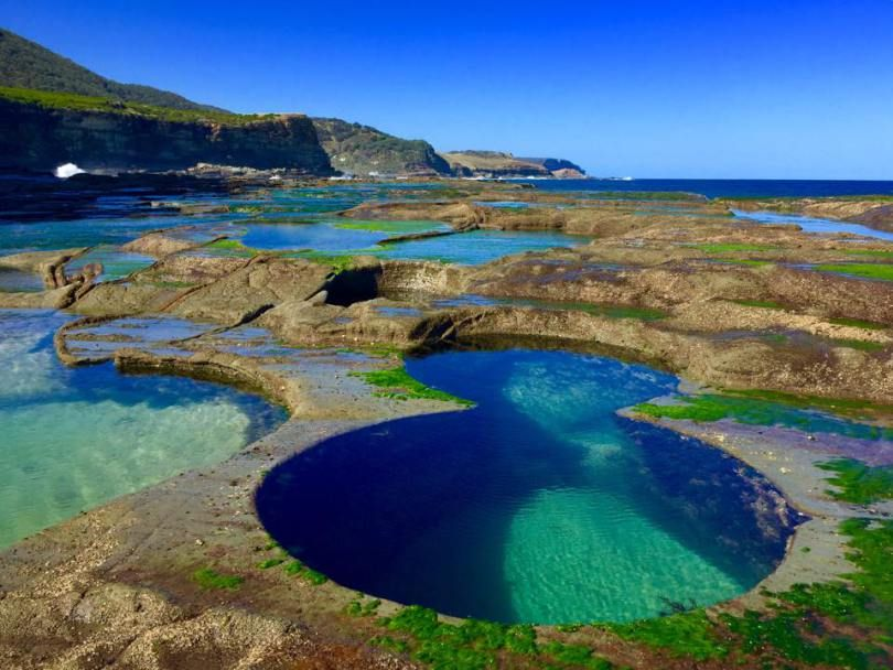 figure 8 pools du royal national park