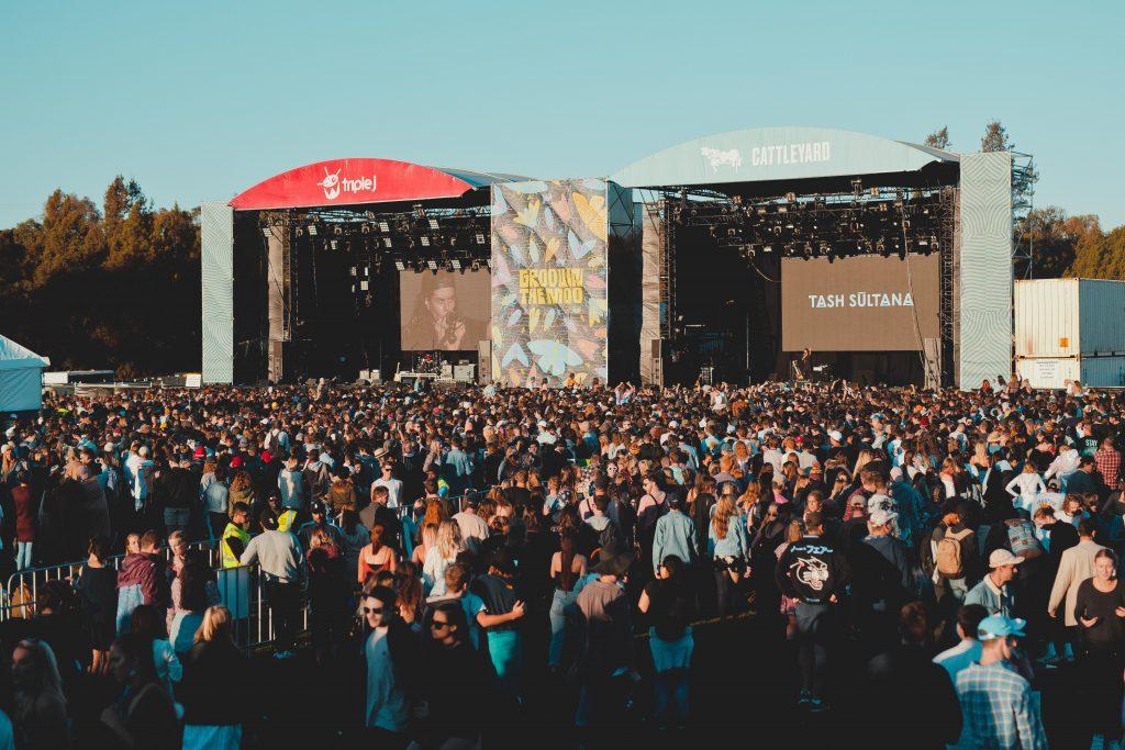 festival groovin the moo en Australie