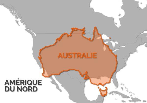 cartes australie