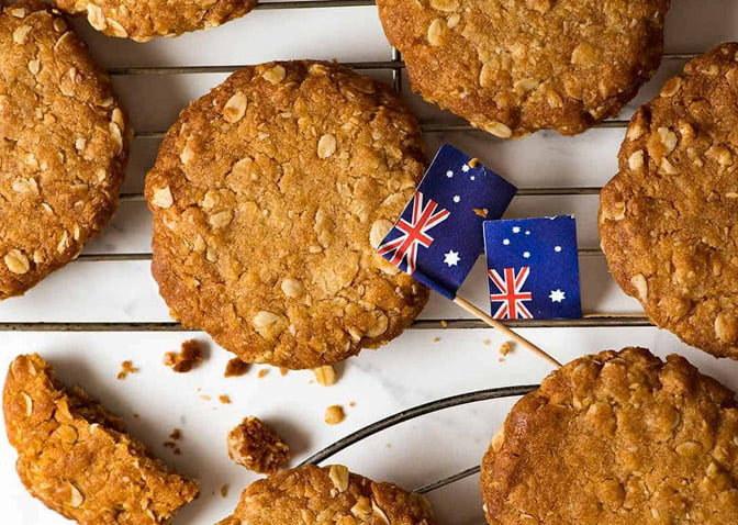 biscuits anzac