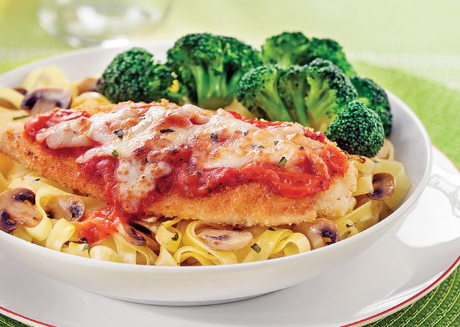 poulet parmigiana