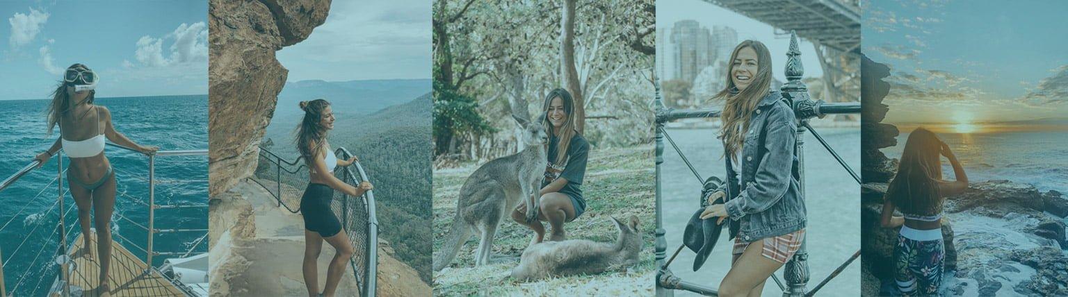charlotte Pedneault voyage en Australie