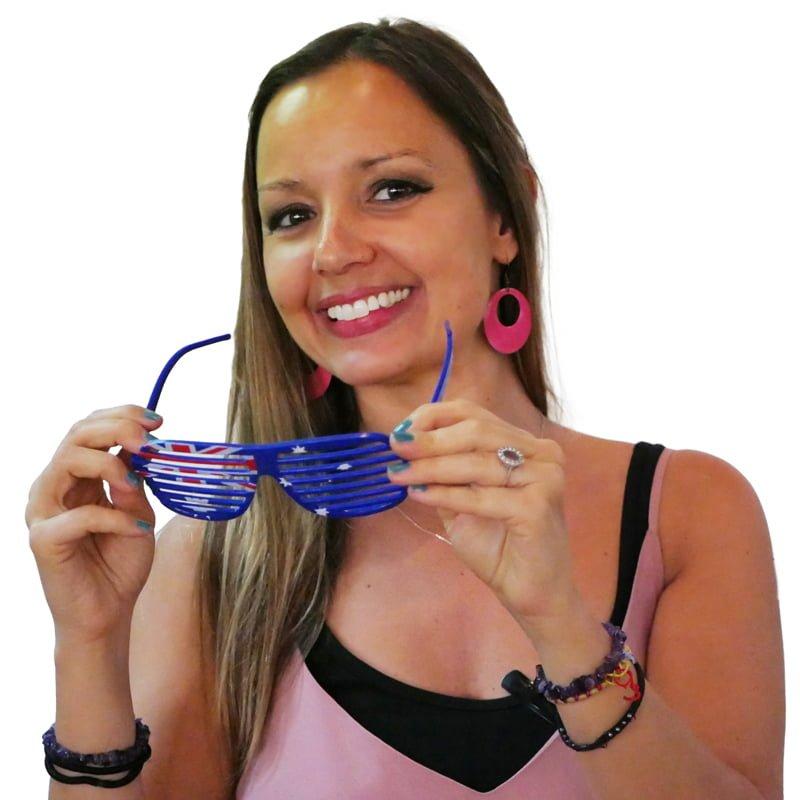 virginie avec lunettes