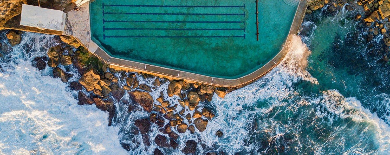 iceberg pool
